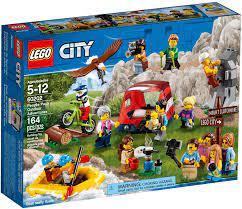 Đồ Chơi LEGO City 60202 - Du Lịch Dã Ngoại - 15 nhân vật Minifigures (LEGO  60202 People Pack - Outdoor Adventures)
