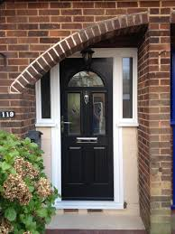 ... Black Front Door With Glass Doors And Sidelightsblack Entry 100  Stupendous Photo Inspirations Home Decor ...