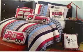 fire truck bedding twin ideas decorating kids bedroom