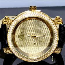 kc watches mens watches watches diamond watch mens 5ct cz 0 12ct real diamonds