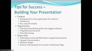 research paper presentation options