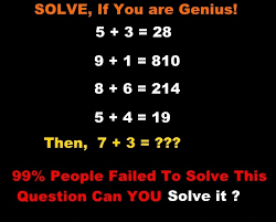find if 5 3 28 then 7 3 only for genius math puzzles riddles with answer math puzzles pics story
