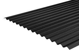 plastic coated corrugated roofing sheet 14 3 0 5mm 0 7mm pvc plastisol coating 8cf jpg