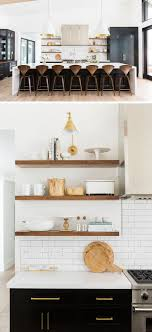 Diy Open Kitchen Cabinets Shelving Ikea Wall Shelves Cabinet Design