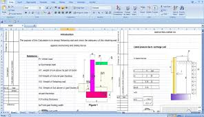 Small Picture Retaining Wall Construction Retaining Wall Excel Spreadsheet