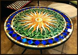 mosaic outdoor table amazing top captivating patio in attractive diy
