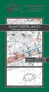 Vfr Aeronautical Chart Switzerland 2019 Rogers Data Rogers Swiss