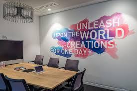 office graphic design. Plain Graphic Environmental Graphic Design  LinkedInu0027s EMEA HQ Office Dublin Seek  With Office M