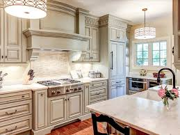 Enchanting Off White Rustic Kitchen Cabinets Designs Full Hd In