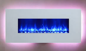 dynasty fireplaces miami 58 inch blue flame wall mount electric
