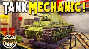 Tank Mechanic Converted The Shop To Repair Tanks This Is What Happened Tank Mechanic Simulator Gameplay Demo