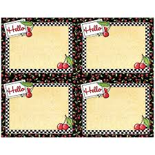 tcr4906 cherries hello name tags from mary engelbreit image