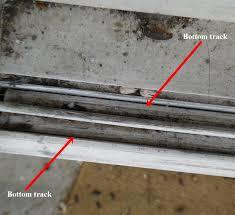 bottom sliding screen door track swiscocom