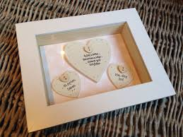 shabby personalised chic box frame gift for mother of the bride mum mom wedding