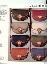 Dooney And Bourke Color Chart Vintage Dooney Bourke All Weather Leather Handbags And