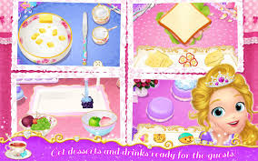 Kitchen Tea Game Princess Libby Tea Party Android Apps On Google Play