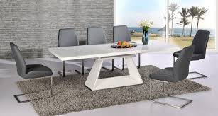 furniture extraordinary modern kitchen tables and chairs 21 white high gloss extending dining table 8 grey