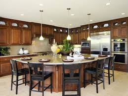 Granite Kitchen Island With Seating Large Kitchen Island With Seating Wash Basin Grey Flooring Black