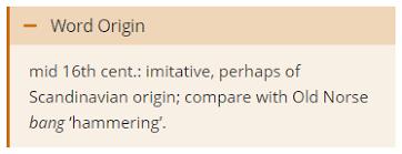 Word Origin Banger Spread The Word