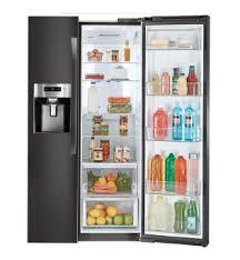 kenmore elite fridge black. built-in look with enough storage. kenmore elite® 51857 elite fridge black