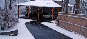 snow melting get a heated driveway heatizon systems Snow Melting Cables for Driveways heated driveway system