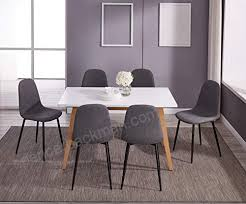 white gray solid wood office. IDS Home Dining Table White Natural Solid Wood Legs Design Living  Room Office - White Gray Solid Wood Office