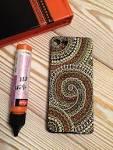 Точечная роспись чехол телефона