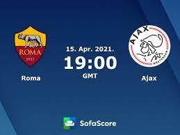 Roma Ajax resultados ao vivo - SofaScore