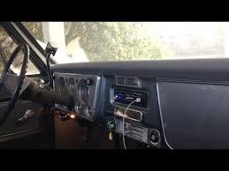 how to install a new radio in any classic car youtube  at 1990 Olds Trofeo Stereo Amp Wire Diagram