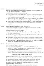 Sample Resume For Leadership Position 9 Senior Financial Services