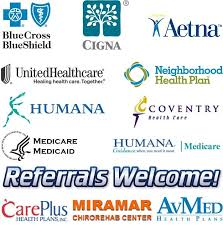 we accept all major health insurance companies welcome referrals