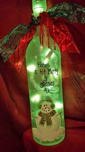 Christmas Crafts From Old Wine Bottles Old Wine Bottles From Italy Wine Bottle Christmas Crafts