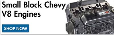 Small Block Chevy V8 - SBC - Engine Specifications