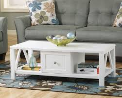 own coffee tables sofa ashley furniture al white end table off allen dining ivory lace