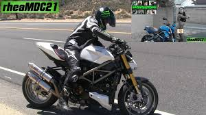 ducati street fighter flyby video canyon riders y girls etc