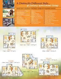 Brochure Samples Apartment Tri Fold Brochure Samples