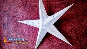 How To Make A Christmas Star With Chart Paper Paper Star Christmas Star Making At Home By Chart Paper
