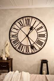 Decorative Wall Clocks For Living Room 17 Best Ideas About Extra Large Wall Clock On Pinterest