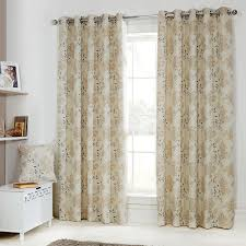eden gold fl jacquard luxury eyelet curtains pair