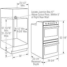 ge monogram double wall oven