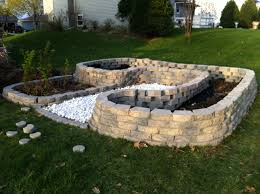 Lowes Landscaping Blocks | Build A Retaining Wall | Brick Tongs Home Depot