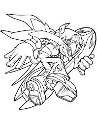 Knuckles The Echidna Coloring Pages Sonic Boom Coloring Pages Sonic