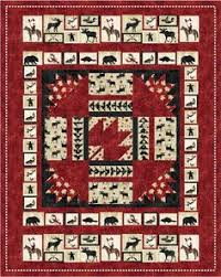 Northcott | Canadiana Quilts | Pinterest | Patterns, Block craft ... & Pattern (Hard Copy) to Make Oh Canada Quilt 60 x 76 Using Stonehenge Fabric Adamdwight.com