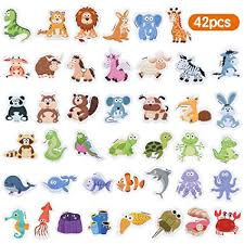 Baobë Fridge Magnets for Toddlers 42 PCS Foam ... - Amazon.com