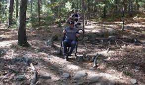 mountain biking wheelchairs