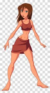 Tarzan Jane transparent background PNG cliparts free download   HiClipart