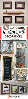 The living room is one space that gets the most attention when you are decorating your house. 45 Pretty Kitchen Wall Decor Ideas To Stir Up Your Blank Walls Kitchen Wall Decor Kitchen Wall Design Wall Decor
