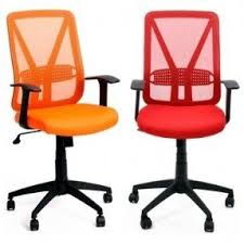 colorful office chairs. Modren Office Simply Serie Colorful Red Orange Midback Office Computer Back Chair With  Arms With Chairs F