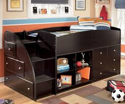 embrace loft bed by ashley furniture loft bed with stairs and built in drawers b239 ashley furniture bedroom photo 2