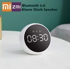ZMI akıllı saat Alarm ses kontrolü Bluetooth 5.0 çalar saat hoparlör Stereo  müzik Surround ile çalışmak Xiaomi Xiaoai akıllı App Smart Remote Control